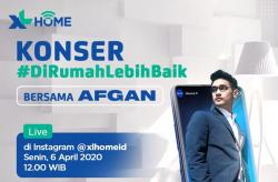 XL Axiata Gelar Konser Digital Bareng Afgan