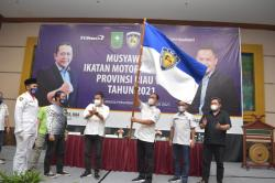 Terpilih Aklamasi, Agung Nugroho Nakhodai IMI Riau Periode Ketiga