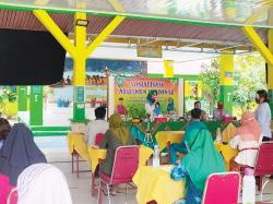 SMAN 7 Pekanbaru Terapkan Prokes saat Sosialisasi Asesmen Nasional