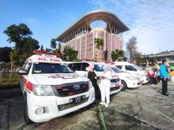 60 Ambulans Disiapkan Jemput Pasien Covid-19 Isolasi Mandiri di Rumah