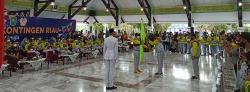 Gubri Lepas Kontingen Menuju PON XX Papua