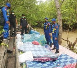 Kejar-kejaran, KPC Polda Riau Tangkap Kapal Pembawa Narkoba