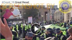 Pria Meninggal Akibat Kekerasan Polisi saat Aksi Protes Anti-Vaksin