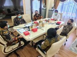 Terapkan Prokes, Masata Audiensi dengan Wakil Ketua DPRD Pekanbaru