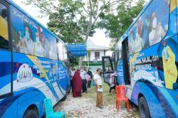 14.275 Warga Sudah Dilayani Bus Vaksinasi Keliling