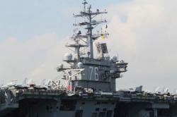 Makin Panas, AS Kirim Kapal Induk saat China Gelar Latihan Militer