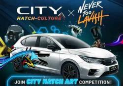 Honda Gelar Kompetisi Desain Virtual City Hatch Art