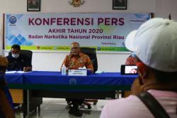 151.567 Warga Riau Terpapar Narkoba, Ini Tangkapan BNN Sepanjang 2020