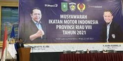 Dihadiri Bupati Kampar, IMI Riau Gelar Musprov Ke-8