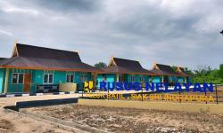 25 Unit Rusus Nelayan Dibangun di Sungai Apit