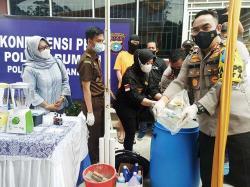 13 Kg Lebih Sabu asal Malaysia Dimusnahkan