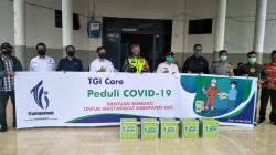 TGI RO3 Pekanbaru Berbagi Sembako ke Warga Terdampak Covid-19