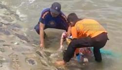 Wanita Tanpa Identitas Ditemukan Mengapung di Pantai Andam Dewi