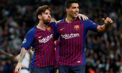 Meski Memimpin Klasemen, Luis Suarez Akui Barcelona Sedang Frustasi
