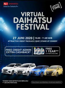 Daihatsu Akan Gelar Daihatsu Virtual Festival