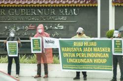 Aktivis Lingkungan Soroti Janji Riau Hijau