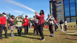 Polda Riau Gandeng PT RAPP Latih Personel Atasi Karhutla