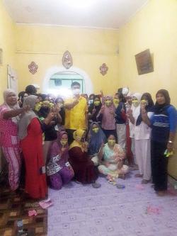 Andi-Suhardiman Kampanye di Kecamatan Gunung Toar
