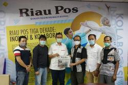 Pertamina MOR I Sumatera Bagian Utara dan Riau Pos Jalin Silaturahmi