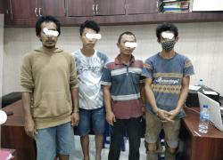 Pencurian Pipa CPI, Empat Pelaku Diamankan Polisi