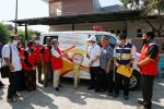 Hakaaston Berbagi Ambulans di Sekitar Wilayah Kerja, Termasuk Pekanbaru