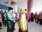 Pemenang MTQ Riau Berangkat Umrah