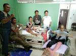 Riska Dapat Kunjungan Penderita Kanker Hampir Sembuh