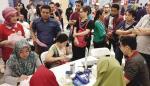 1.601 Warga Ikuti Aksi Donor Darah Eka Hospital