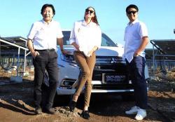 Mitsubishi Motors Garap EBT Isi Daya Mobil Listrik