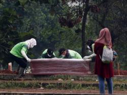 Polisi Turun Tangan, Bentuk Tim Khusus Bantu Pemakaman Jenazah Covid-19