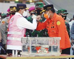 SAR Lion Air Dapat CVR, Sriwijaya Air Berhasil Angkat FDR