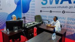 Dinas PMD Inhu Sosialisasikan Aplikasi Klinik Bunda Di Radio SWAI FM