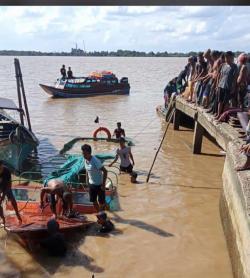 Speedboat Tujuan Sungai Guntung Tenggelam