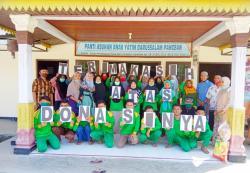 Digalang via Medsos dan Proposal, 150 Anak Yatim Terima Paket Lebaran