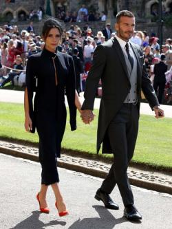 Anak Menikah, David Beckham Undang Meghan Markle dan Pangeran Harry