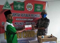 GP Ansor Serahkan Bantuan Covid-19