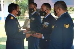 Lanud Rsn Peringati Hari Bakti TNI AU