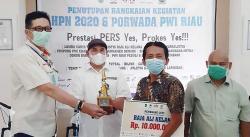 Wartawan Riau Pos Juarai LKTJ Raja Ali Kelana 2020