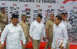 Prabowo Terpilih Lagi Jadi Ketua Umum Partai Gerindra