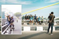 Turun ke Jalan, Bidik Gambar Olahragawan