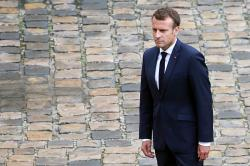 Terganggu Pemberitaan soal Ekstremisme Islam, Macron Telpon Jurnalis NY Times