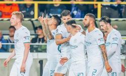 City Bantai Tuan Rumah Club Brugge
