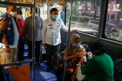 Tujuh Ribu Warga Sudah Dilayani Bus Vaksinasi Keliling