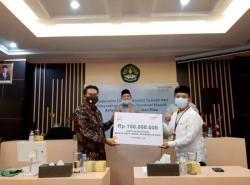 Mandiri Syariah Bantu Masjid Arfaunnas Unri Rp150 Juta