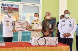 BRK Serahkan CSR untuk Lapas Narkotika Kelas IIB Rumbai