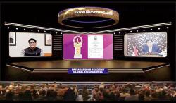 Menko Airlangga Dianugerahi Priyadarshni Academy Global Award