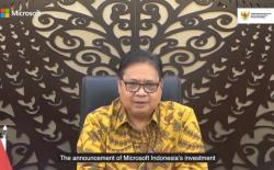 Microsoft di Indonesia, Menko Airlangga: Buka 60 Ribu Lapangan Kerja