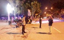 Jalan Arifin Achmad Jadi Arena Balapan