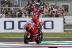Duel Seri dengan Quartararo, Bagnaia Juara di San Marino