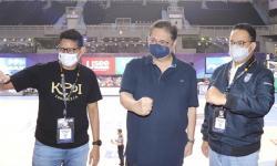 Final IBL Disaksikan Nobar Airlangga Hartarto, Anies dan Sandi